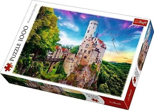 Puzzle 1000 Zamek Lichtenstein Niemcy