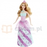 BARBIE Księżniczki Rainbow Fashion (DHM49)