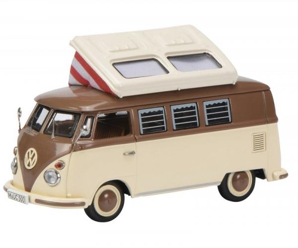 Volkswagen T1c Camping Bus (brown/beige) (450369700)