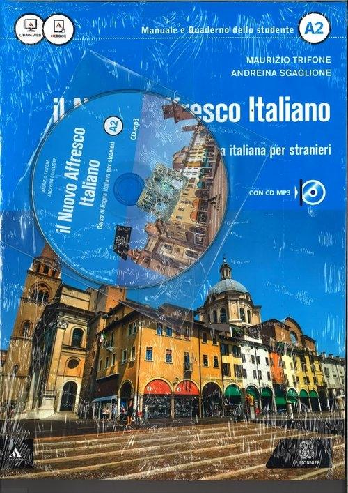 Nuovo Affresco Italiano A2 Podręcznik + CD mp3 Maurizio Trifone, Andreina Sgaglione