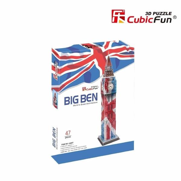 Puzzle 3D Zegar Big Ben