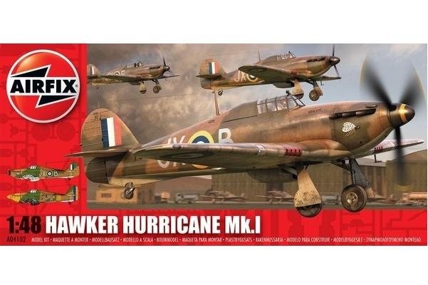 Model plastikowy Hawker Hurricane Mk.1 1:48 (05127A)