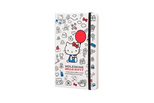 Notes Moleskine Limitowana Edycja Współczesna HELLO KITTY 2016 L (13x21 cm) w linie, twarda oprawa