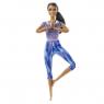 Barbie: Made to Move - lalka w niebieskim ubranku (FTG80/GXF06)