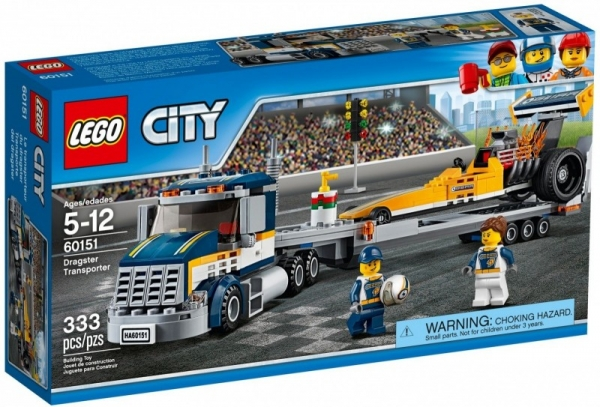 Lego City: Transporter dragsterów (60151)