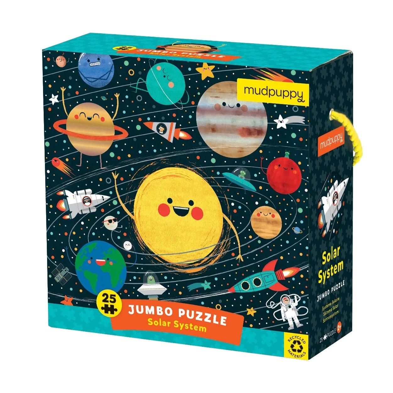 Mudpuppy, puzzle podłogowe Jumbo 25: Układ słoneczny (MP67975)