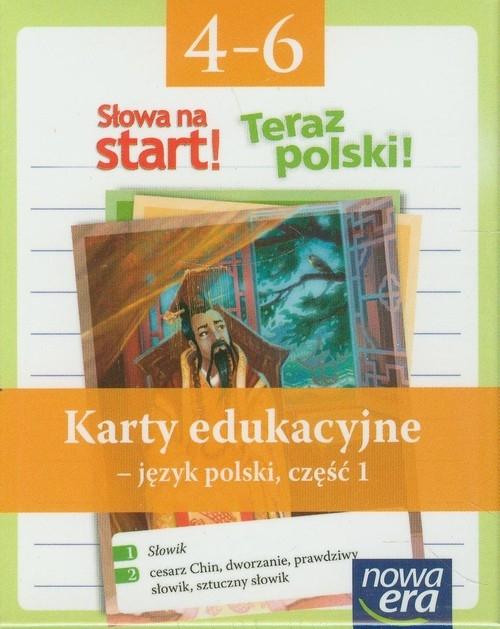 Słowa na start 4-6 Karty edukacyjne Część 1 Marcinkiewicz Agnieszka