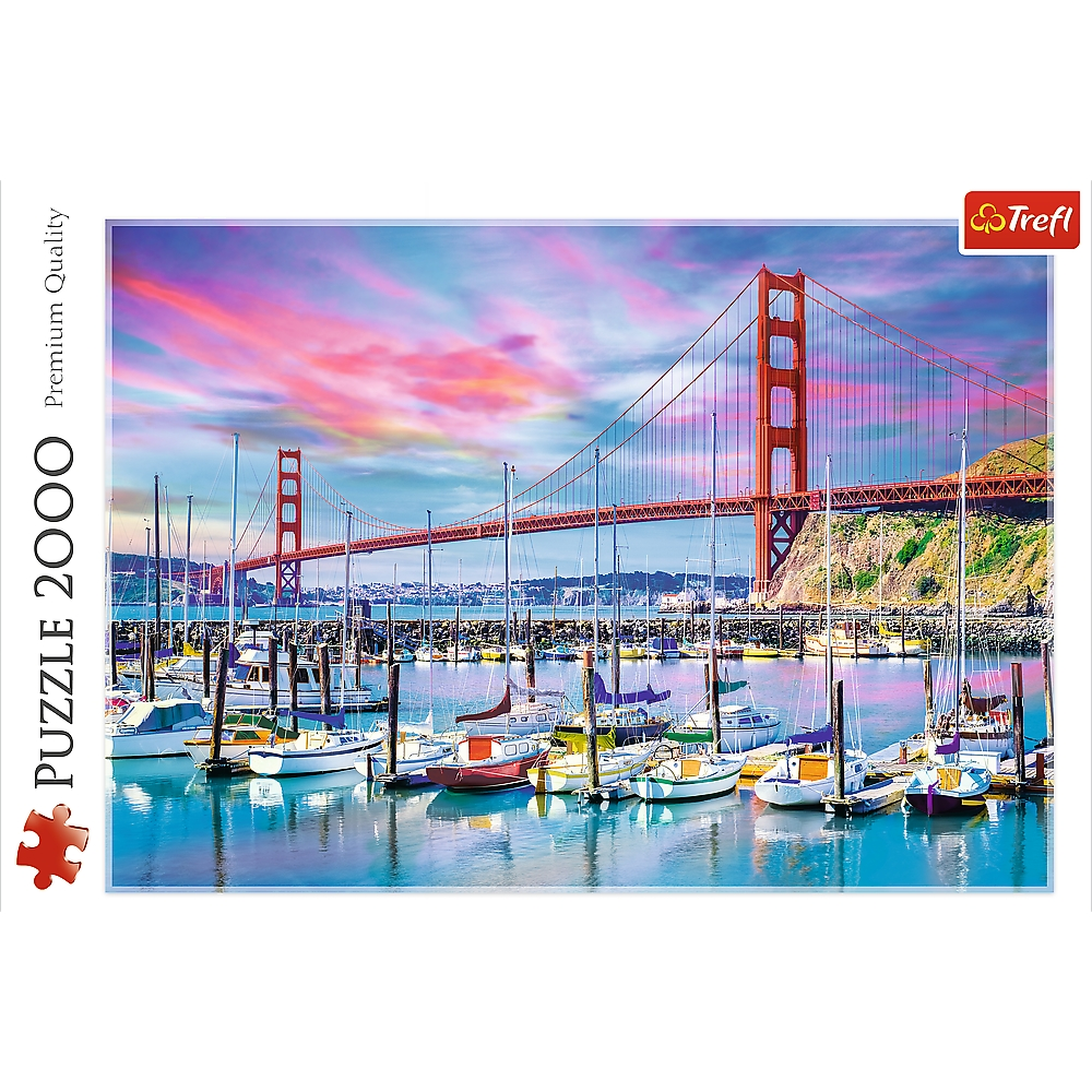 Puzzle 2000: Golden Gate, San Francisco (27097)