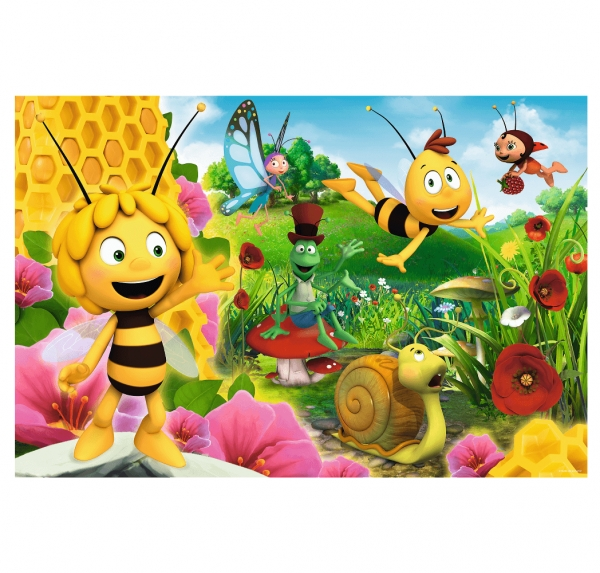 Puzzle 24 Maxi: Pszczółka Maja - W świecie pszczółki Mai (14297)