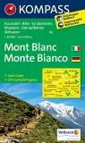 Mont Blanc mapa