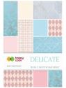 Blok z motywami Effect Delicate - 10 arkuszy Happy Color (2029-DE)