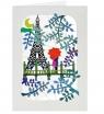 Karnet PM407 wycinany + koperta Paryż