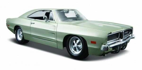 Dodge Charger 1969 1/25 Srebrny (10131256/2)