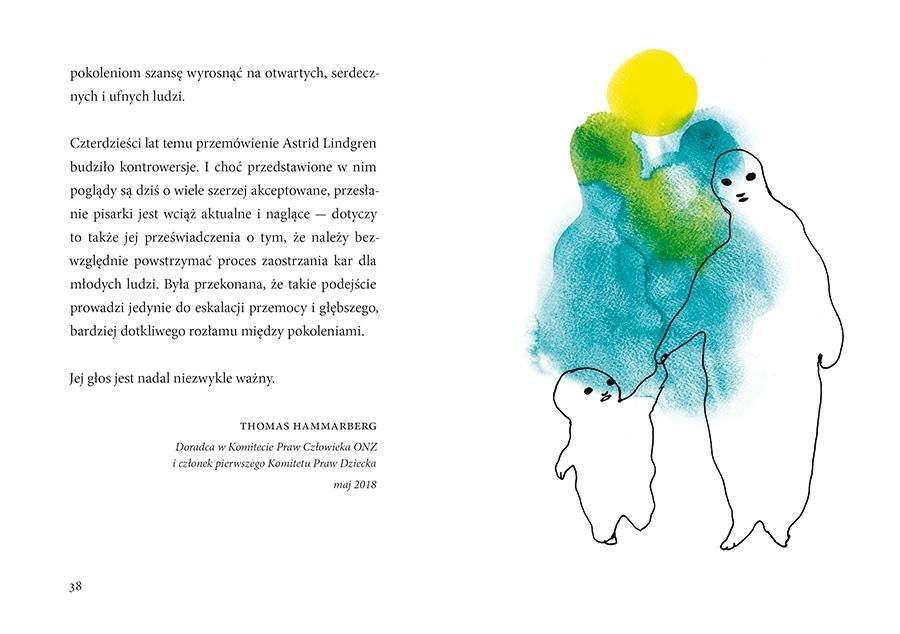Żadnej przemocy! Astrid Lindgren, Stina Wirsén