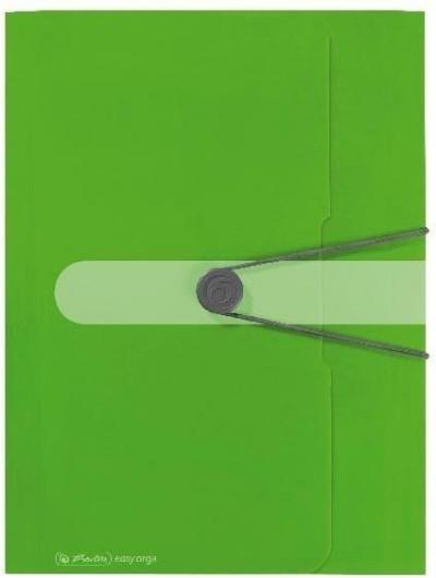 Teczka rysunkowa A4 z gumką Easy Orga Zielona