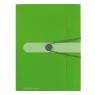 Teczka A4 z gumką Easy Orga - zielona