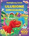 Naklejkowy świat Ulubione dinozaury