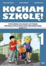 Kocham szkołę! Ćwiczenia do nauki czytania metodą Jagoda Cieszyńska, Marta Korendo, Agnieszka Bala