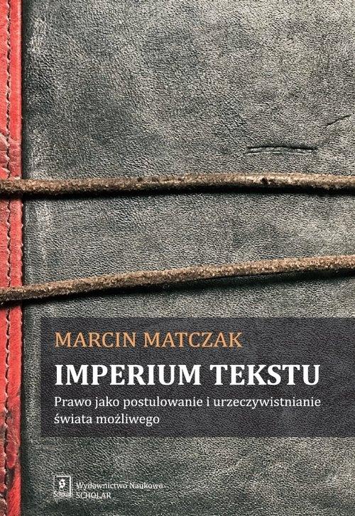 Imperium tekstu Matczak Marcin