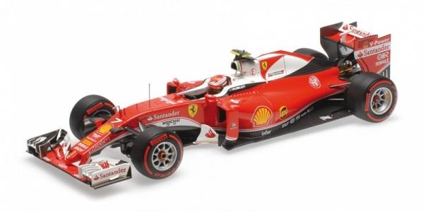 Ferrari SF16-H Scuderia Ferrari #7 Kimi Raikkonen GP China 2016 (BBR exclusive) (BBR181617)