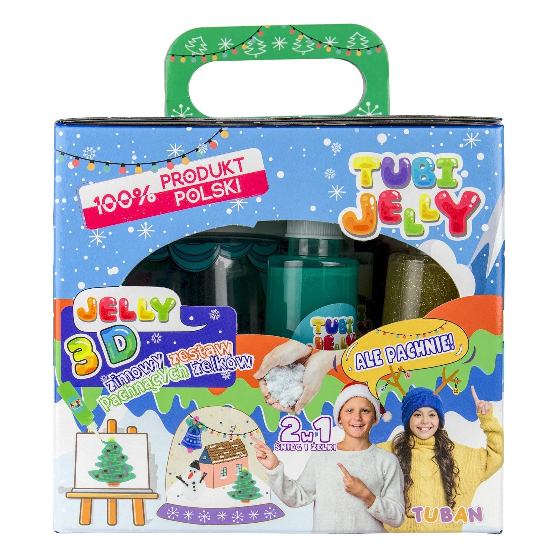 Zestaw Tubi Jelly 6 kolorów + małe akwarium – Zima (TU3197)