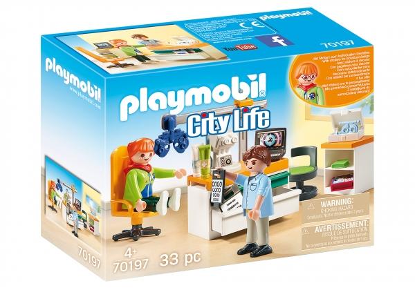 Playmobil City Life: Okulista (70197)