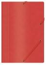 Teczka z gumką A4 preszpanowa czerwona 390g.(21194011-04) Office Products