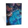 Notatnik Midi Blue Cats & Butterfiles w linie
