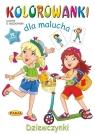 Kolorowanki dla malucha - Dziewczynki
