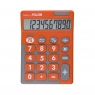 Kalkulator 10 Poz. Touch Duo Pomarańcz