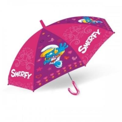 Parasol dziecięcy 45cm Smerfy
