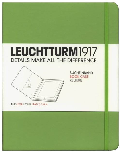 Etui iPad 2-4 Leuchtturm1917 limonkowe