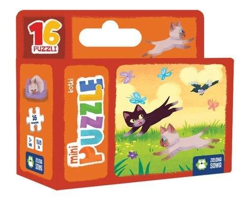 Minipuzzle. Kotki