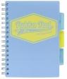 Kołozeszyt Pukka Pad A5 Project Book, 100 kartkowy, kratka, niebieski (8631S(BE)-PST)