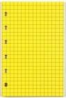Wkład do organizera K Kratka żółta ANTRA