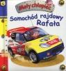 Samochód rajdowy Rafała Mały chłopiec