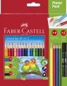 Kredki ołówkowe 18 kolorów+4 kolory podstawowe+2 ołówki