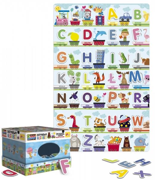 Montressori Plus - Dotykowy alfabet (304-PL72446)