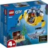 Lego City: Oceaniczna mini łódź podwodna (60263)Wiek: 4+