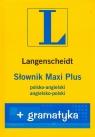 Słownik Maxi Plus polsko angielski angielsko polski + gramatyka