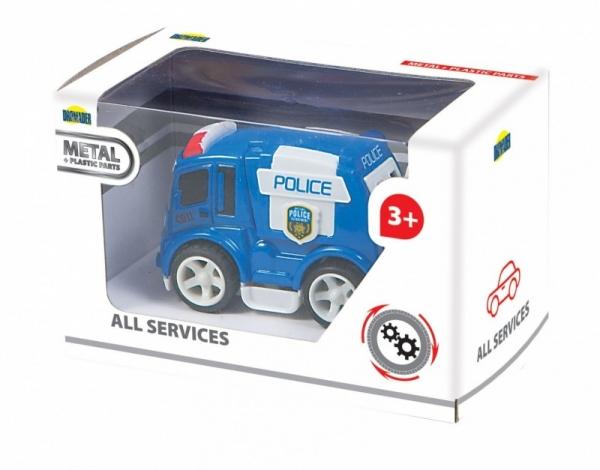 Samochód metalowy w pudełku (00898)