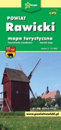 Powiat Rawicki. Mapa turystyczna praca zbiorowa