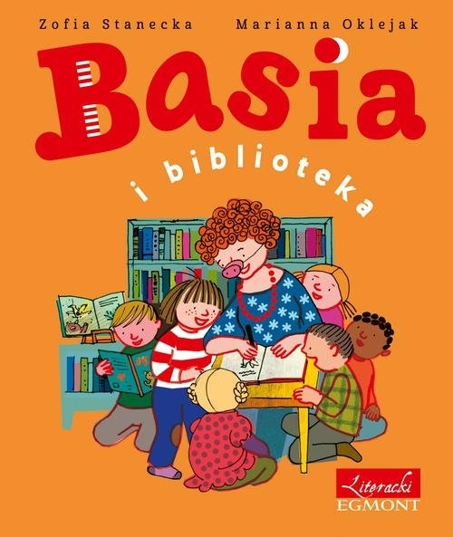 Basia i biblioteka Stanecka Zofia, Oklejak Zuzanna