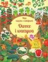 Moja książka z naklejkami. Owoce i warzywa