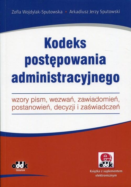 Kodeks postępowania administracyjnego Wojdylak-Sputowska, Sputowski