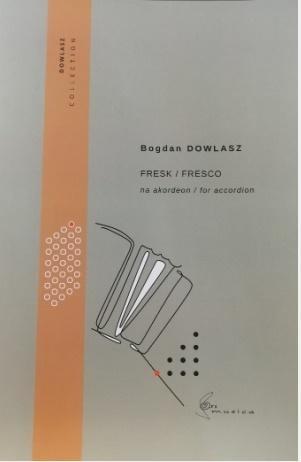 Fresk na akordeon Bogdan Dowlasz