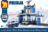 Klocki plastikowe Dromader policja komisariat 278 elementów (130-92898)