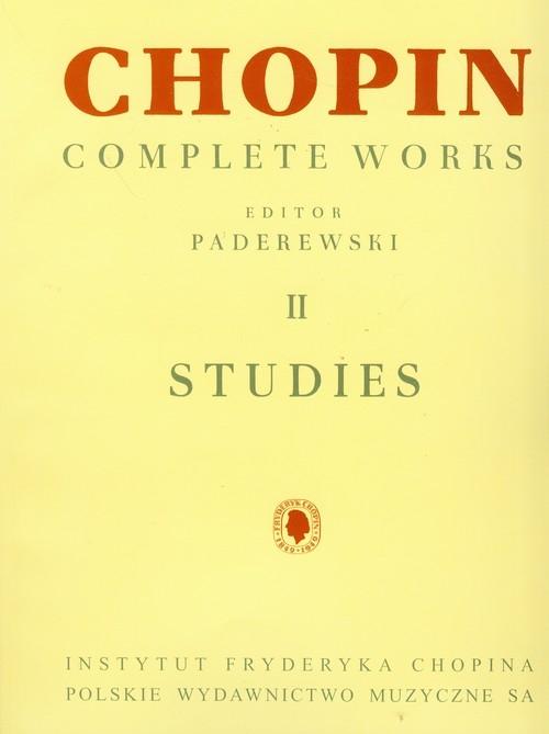 Chopin Complete Works II Etiudy