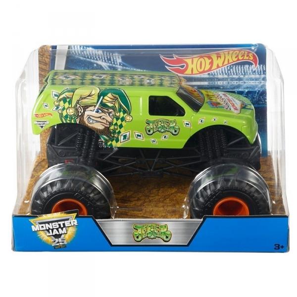 Monster Jam Auta 1:24 Jester Vehicle (CBY61/DWP16)