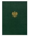 Barbara, okładka na dyplom, godło A4 zielona (254855)